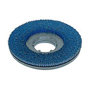 "Powr-Flite PFDS20 15""Poly Shower Feed Brush With Clutch Plate For Carpet & Hard Surface"