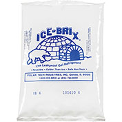 "Ice-Brix Cold Packs - 5-1/2x4x-3/4"" - Case of 48"