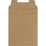 "7""Wx9""L Stayflat Mailer, Kraft, 100 Pack"