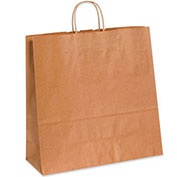 "5-1/4""Wx3-1/4""Dx13""H Shopping Bag, 250 Pack"