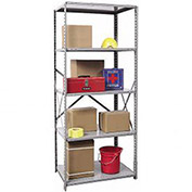 "5 Shelf Starter, 36""Wx12""Dx87""H, Open Clip"