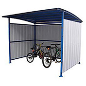 Bike Storage Shelter, 7-15 Bike Capacity