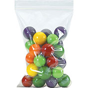 """Economical Self-Seal Bags - 4x5"""" - 4-Mil - Case of 1000"""