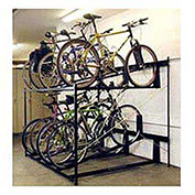 8-Bike Rack Double Decker, Non-Locking