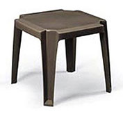 Stacking Outdoor End Table - Bronze - Pkg Qty 6