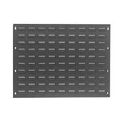 Steel Louvered Wall Panel Without Bins, 27x21 - Pkg Qty 2