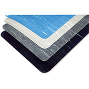WEARWELL Tile-Top Anti-Microbial Anti-Fatigue Mat - Tile-Top - 3x5' - Blue