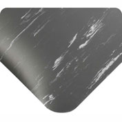 """Wearwell Antimicrobial Tile Top Anti-Fatigue Mat, 1/2"""" Thick, 36x60, Charcoal"""