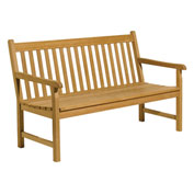 5' Classic Backed Bench with Arms
