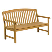5' Chadwick Backed Bench with Arms