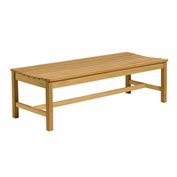 5' Wooden Backless Bench