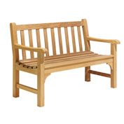 Essex 4' Backed Bench with Arms