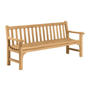 Essex 6' Backed Bench with Arms