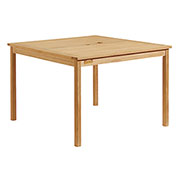 "42"" Square Outdoor Dining Table - Teak"