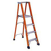 8' Fiberglass Platform Step Ladder