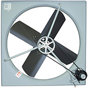 "TPI Belt-Drive Exhaust Fan - 42"" Blade Diameter - 120V - -3/4 HP"