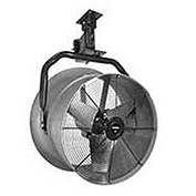 "Triangle Engineering 24"" Vertical Mount Fan With Poly Housing 1/2 HP 5600 CFM 3 Phase"