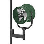 "Triangle Engineering 30"" Horizontal Mount Fan With Poly Housing 1 HP 10600 CFM Single Phase"