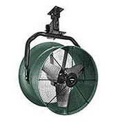 "Triangle Engineering 30"" Oscillating Vertical Mount Fan With Poly Housing 1 HP 10600 CFM 3 Phase"
