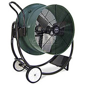 "Triangle Engineering 30"" Portable Blower Fan With Poly Housing HVD3015 1 HP 10600 CFM"