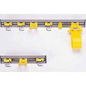 "Rubbermaid® 18""W Closet Organizer/Tool Holder, 2 S-Hooks 1 Double Hook"