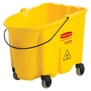 Rubbermaid Wavebrake® Mop Bucket, Yellow