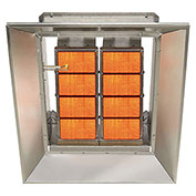 SunStar Natural Gas Heater Infrared Ceramic, 60000 Btu