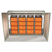SunStar Natural Gas Heater Infrared Ceramic, 140000 Btu
