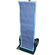 American Moving Supplies Padded Blue Quilted Fabric Hand Truck Cover