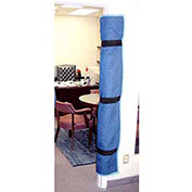 American Moving Supplies Padded Blue Quilted Fabric Door Jamb Protector