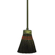 Plastic Bristles Maid Broom, Light-Duty