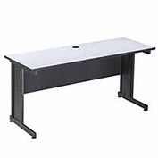 "60""W Desk - Gray Finish Top"