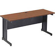 "60""W Desk - Cherry Finish Top"