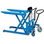 "BISHAMON SkidLift Manual Pallet Positioners - 2200-Lb. Capacity - 27""Wx42-1/2""L Forks"