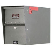 Jayco Standard Heavy Duty Letter Locker Mailbox, Gray