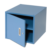 "16""H Stackable Hanging Cabinet, Blue"