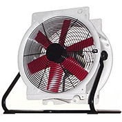 "Vostermans B4E5003M11100P 20"" Mobile Indoor Outdoor Fan 1/3 HP 4,765 CFM"