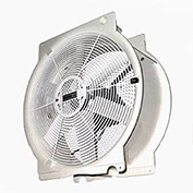"Vostermans T4E4001M81100 16"" Mobile Indoor Outdoor Greenhouse Fan 1/3 HP 3,294 CFM"