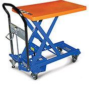 SOUTHWORTH Dandy Lift Mobile Scissor Lift Tables - 550-Lb. Capacity