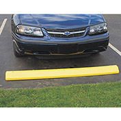 "EAGLE Poly Parking Stop - 72""Wx8""Dx4""H - Safety yellow"