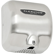 Xlerator® Hand Dryer, Brush Stainless Steel Cover 120V