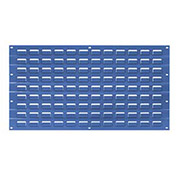 Louvered Wall Panel, 18x19, Blue - Pkg Qty 4