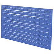 Louvered Wall Panel, 36x19, Blue - Pkg Qty 4