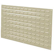Louvered Wall Panel, 36x19, Tan - Pkg Qty 4
