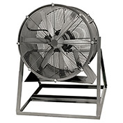 "Americraft 30"" EXP Aluminum Propeller Fan With Medium Stand 1-1/2 HP, 12000 CFM, Single Phase"