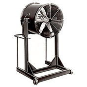 """Americraft 30"""" EXP Aluminum Propeller Fan With High Stand 1 HP, 11200 CFM, Single Phase"""