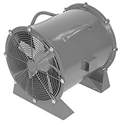 """Americraft 24"""" EXP Aluminum Propeller Fan With Low Stand 3/4 HP, 6900 CFM, Single Phase"""