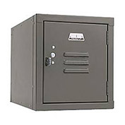 Penco 6159V028 Vanguard One High Box Locker 12x15x13-5/8 Unassembled Gray