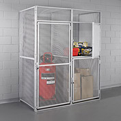 "HALLOWELL Modular Double-Tier Storage Locker - 36x36x90"" - Add-On"