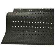 Cushion Max Anti Fatigue Drainage Mat, 36 x 144, Black